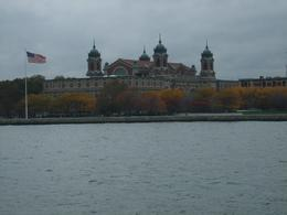 Ellis Island as taken from the boat, Margaret M - November 2010