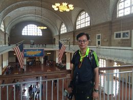 Those were the days on Ellis Island , VAI KEI L - August 2015