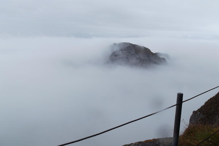 Feels like you're on top of the clouds - Lucerne