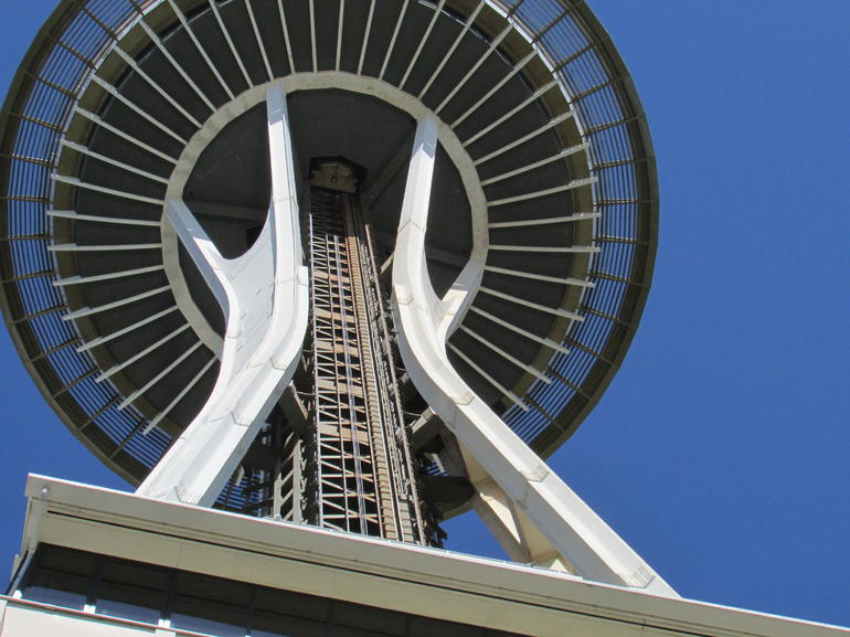 First stop, the Needle