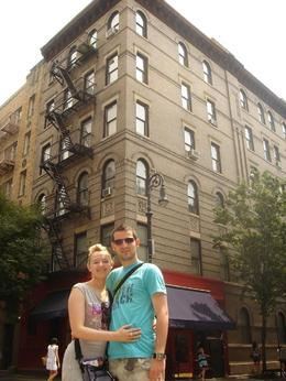 Photo of New York City New York TV and Movie Sites Tour Friends Building