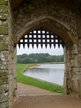 Gate on the grounds of Leeds Castle, Wendy J - October 2010