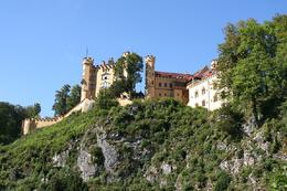 We didn't go up to this castle as the walk up to Neuschwanstein had us drained., Terence P - October 2010