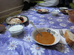 Photo of Istanbul Eat Like a Local: Istanbul Food and Culture Tour with Dinner at Local Family Home Lentil soup