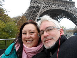 Photo of Paris Paris City Hop-on Hop-off Tour LOVEBIRDS at the Tour Eiffel