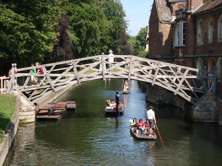 Mathematical Bridge - London