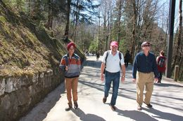 Way to Neuschwanstein Castle , Tejinder S - April 2015