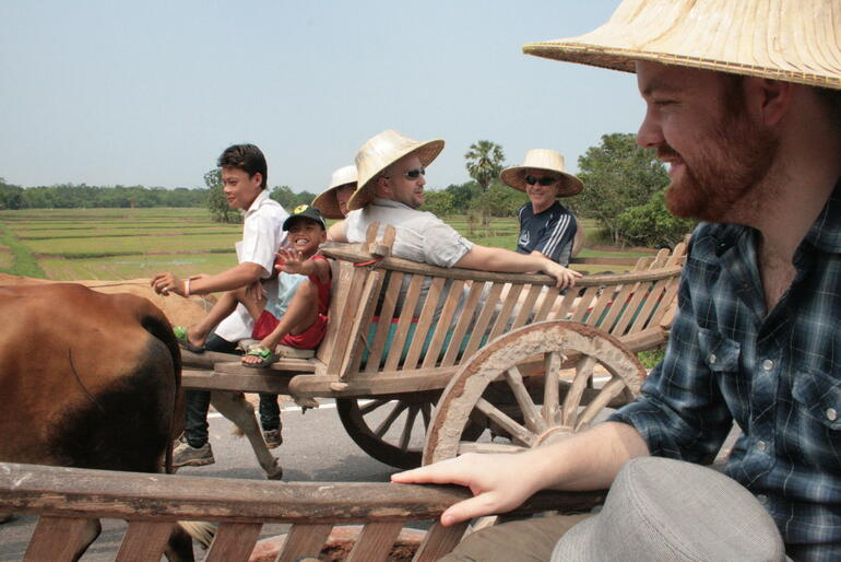 Ox Cart Ride - Bangkok