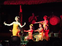 Traditional Luau dancers - January 2010