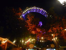 The Ferris wheel looks so nice at night, Irene - October 2013