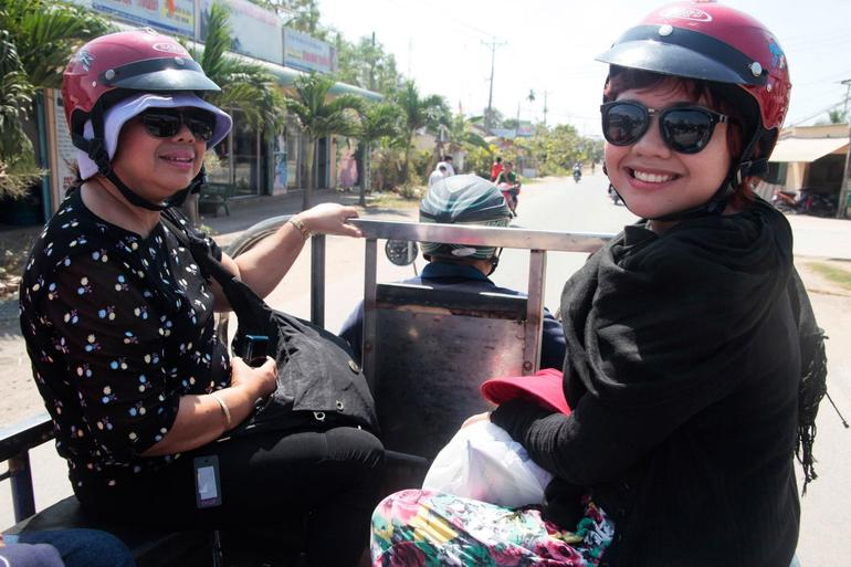 Riding a taxi - Ho Chi Minh City