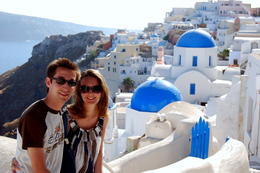 On Santorini - July 2014