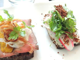 Photo of Copenhagen Copenhagen Food Tour Smørrebrød -  Luscious little open-faced sandwiches