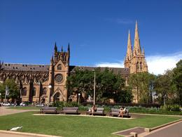 Photo of Sydney Sydney Day Tour with Optional Sydney Harbour Lunch Cruise St Mary's Cathedral