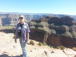 Photo of Las Vegas Grand Canyon and Hoover Dam Day Trip from Las Vegas with Optional Skywalk Stay away from the edge!