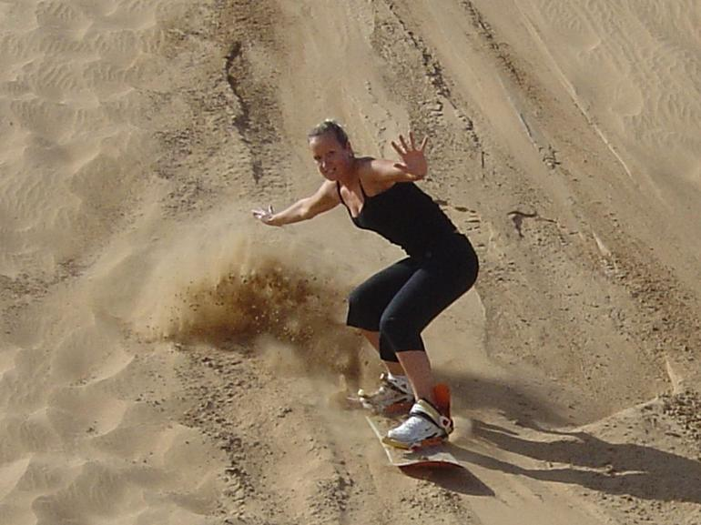 The Dancing Queen of the dunes!! - Dubai