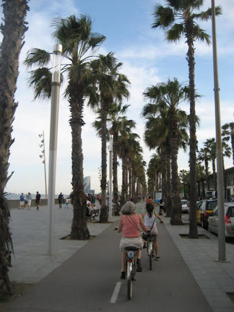 To the beach - Barcelona
