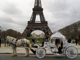 Photo of Paris Romantic Horse and Carriage Ride through Paris Under the Eiffel Tower