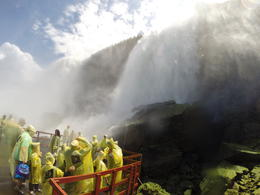 Up close and personal with the falls, Alex - July 2014