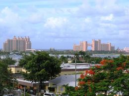 The view of Atlantis on Paradise Island from Fort Fincastle , Leah - July 2011