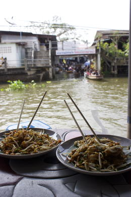 Photo of Bangkok Floating Markets and Rose Garden Cultural Center Day Tour from Bangkok Yummy lunch