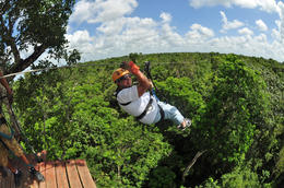 Photo of Cancun Cancun Extreme Zipline Canopy Tour Zipline Cancun