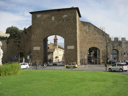 City gates of Florence - by bus. , Mandi K - October 2012