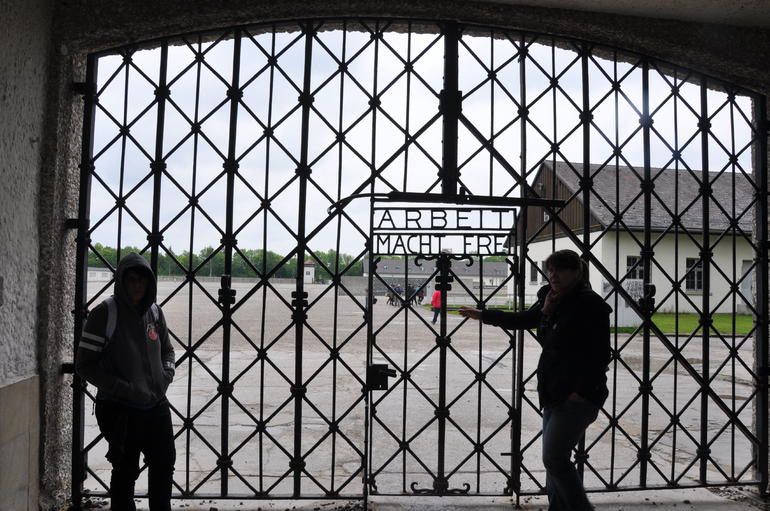 Gates into dachau - Munich
