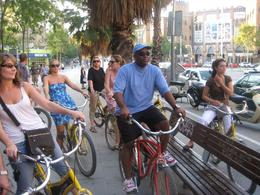 Photo of Barcelona Barcelona Half-Day Bike Tour Just before lunch