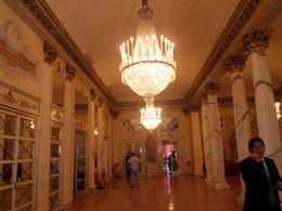 A rare visit to the lobby of La Scala due to Verdi's 200th birthday. , Anthony F - October 2013