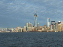 Photo of   Manhattan Skyline as seen from off Liberty Island