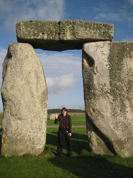 Standing among the stones of Stonehenge was a magical experience. - July 2009