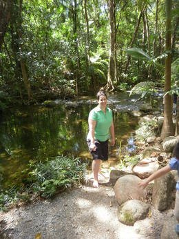 Photo of Cairns & the Tropical North Aboriginal Cultural Daintree Rainforest Tour from Cairns or Port Douglas The little private part of Mossman Gorge we got taken to.