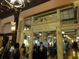 The world famous tea room at the Empress Hotel in Victoria , John C - August 2011