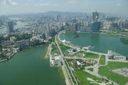 View from Macau tower , Mary H - June 2013