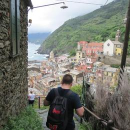 Photo of Florence Cinque Terre Hiking Day Trip from Florence Arriving in Vernazza after hiking
