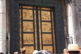 This is a replica, the real one is at a museum. These are the gold doors. - July 2008