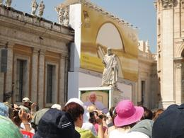 Photo of Rome Papal Audience Ticket at Vatican City Big screen shot