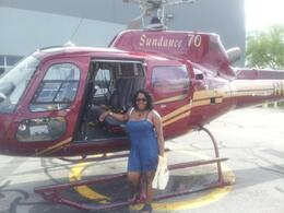 Photo of Las Vegas Skip the Line: Grand Canyon Skywalk Express Helicopter Tour Boarding the Helicopter