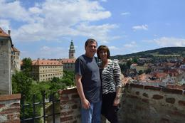 Overlooking the town from the Castle...simply breathtaking! , David S - June 2014