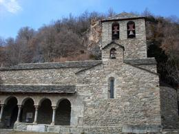Photo of Barcelona Pyrenees Mountains Small Group Day Trip from Barcelona Church in  Quallbs