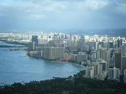 Photo of Oahu Diamond Head Crater Small Group Adventure city view
