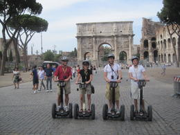 Photo of Rome Rome Segway Tour Constatine's Arch