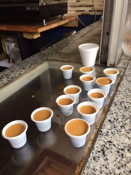 Delicious and Very Strong Cuban Coffee , Becky M - April 2016