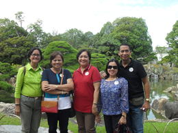 Photo of Osaka Kyoto and Nara Day Tour Including Golden Pavilion and Todai-ji Temple from Osaka Group Picture