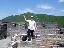 Photo of Beijing Private Tour: Mutianyu Great Wall, Olympic Sites and Optional Hot Springs Spa in Beijing Hiking the Great Wall