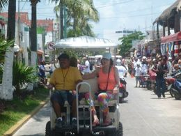 Golf cart ride around the beautiful island! , Ronnie K - June 2015