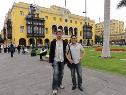 Us enjoying Lima's historic center. , Thomas S - June 2011