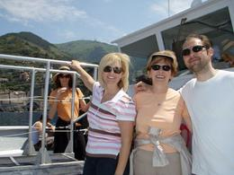 Photo of Florence Cinque Terre Small Group Day Trip from Florence On the boat