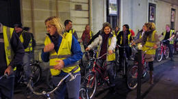 Photo of Paris Paris Night Bike Tour Our group